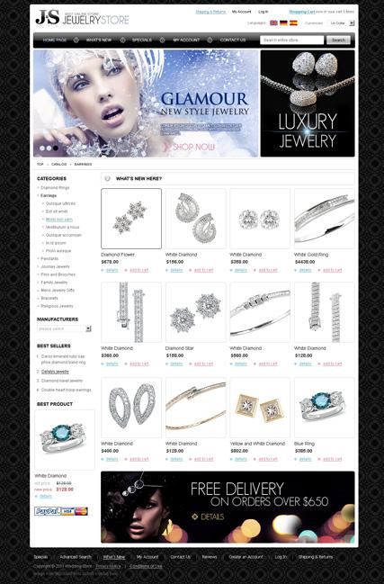 Jewelry store 2.3ver Website Design