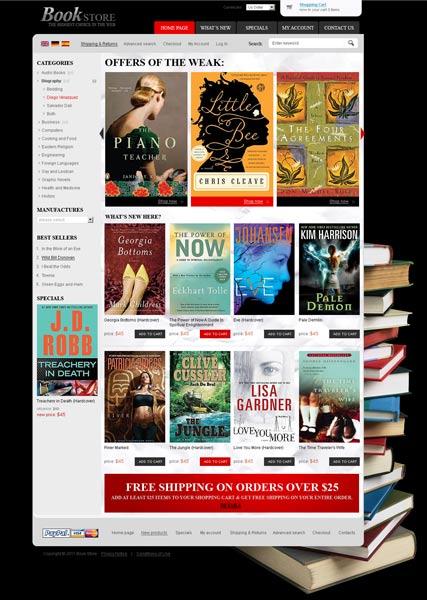 Book Store 2.3ver Website Design
