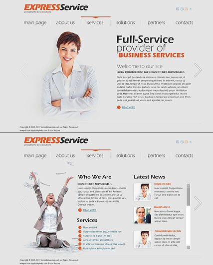 Express Business Website Design