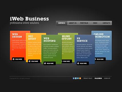 iWeb Business Website Design