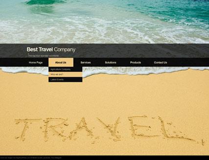Travel co. Website Design