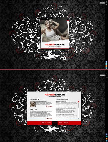 My gallery Website Design