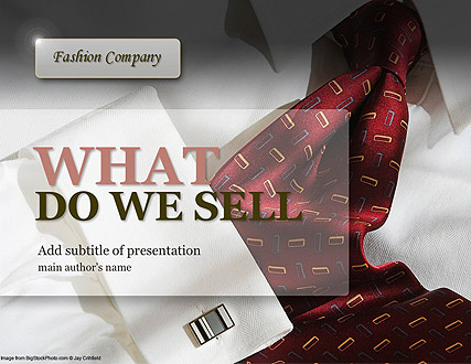 Fashion Company Website Design
