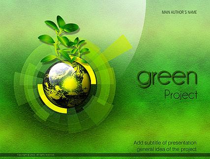 Green project Website Design