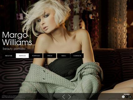 Model folio Website Design