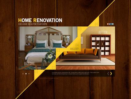 Home Renovation Website Design