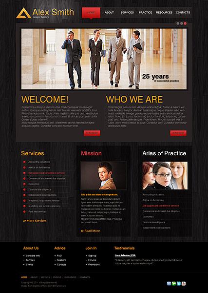 Lawyer Agency Website Design