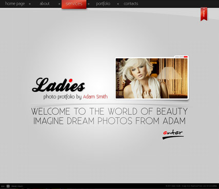 Ladies folio Website Design