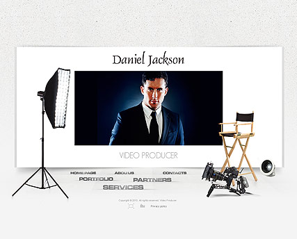 Video Producer Website Design