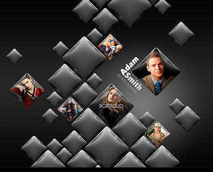 Cube Gallery Website Design