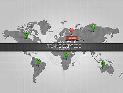 Trans Express Website Design