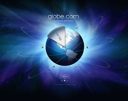 Business Globe Website Design