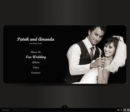 Our Wedding Website Design