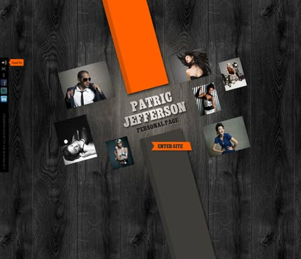 Personal page Website Design