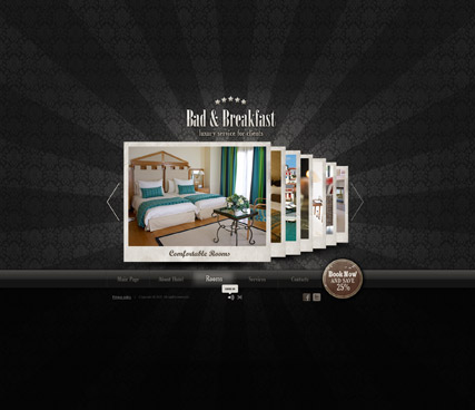 Bed and Breakfast Website Design