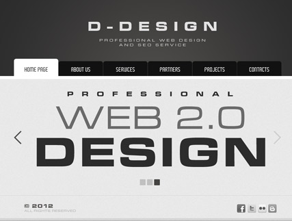 SEO service v2.5 Website Design