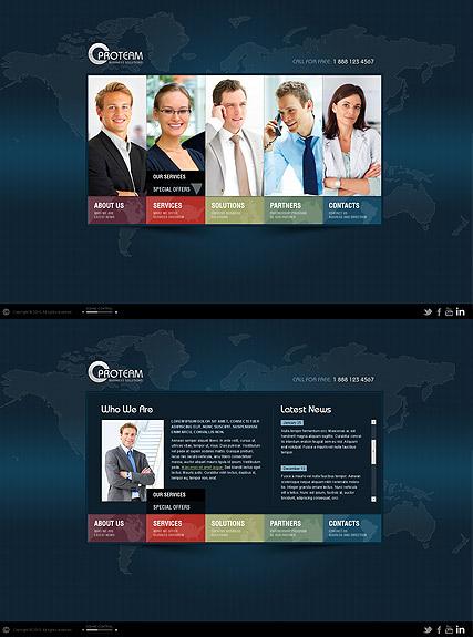 World Business Website Design