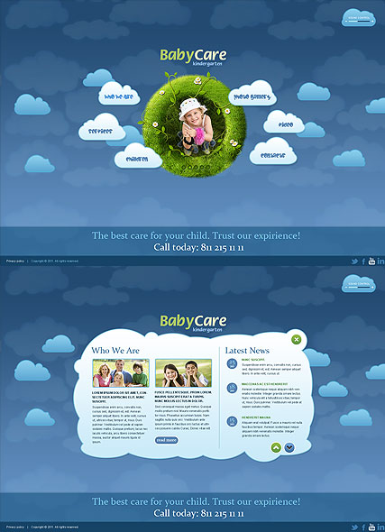 Kindergartnen Website Design