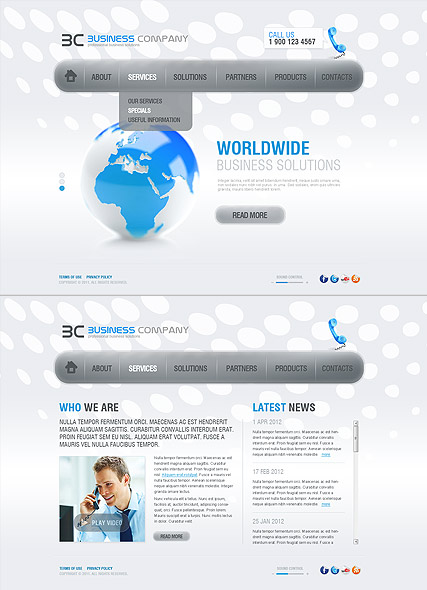Business Co. Website Design