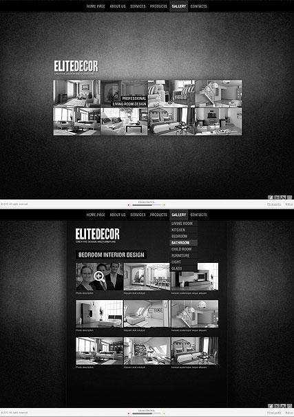 Elite Interior Website Design