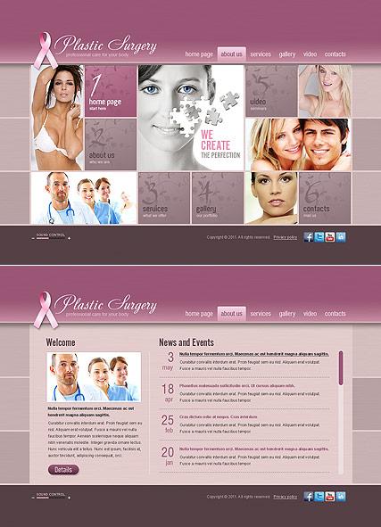Plastic Surgery Website Design