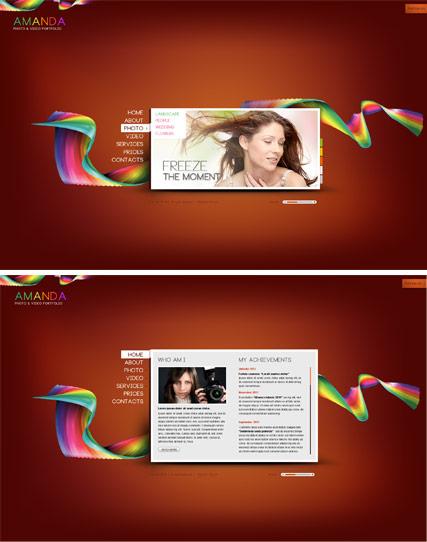 My folio Website Design