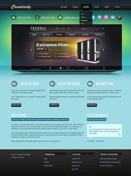 Design studio v2.5 Website Design