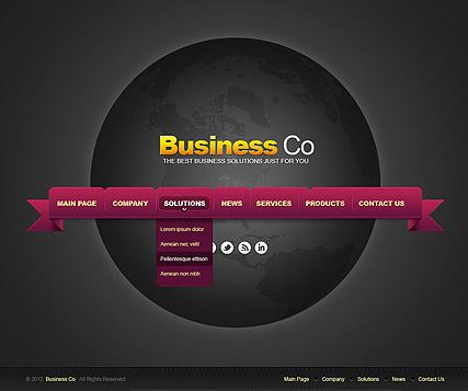 Business co. v2.5 Website Design