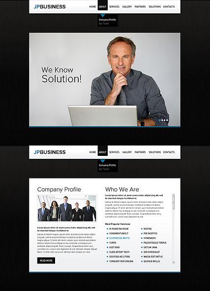 Business Company Website Design