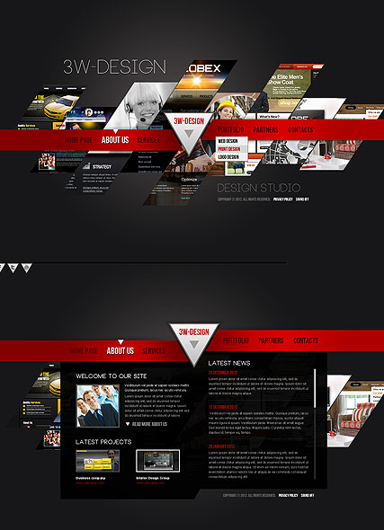 Design Studio Website Design