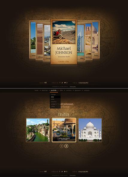 My Album Website Design