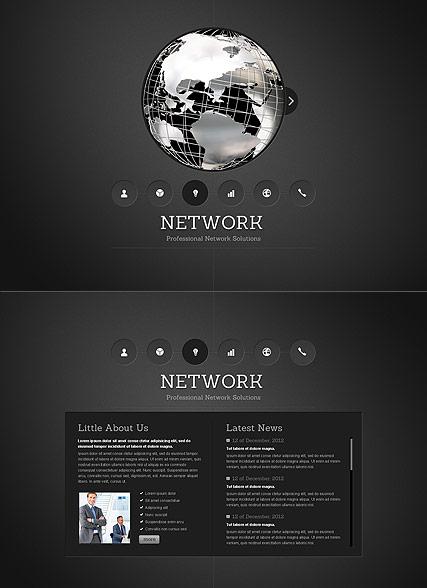 Network Website Design