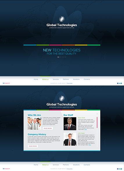 New Technology Website Design