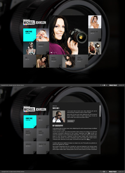 Portfolio by Website Design