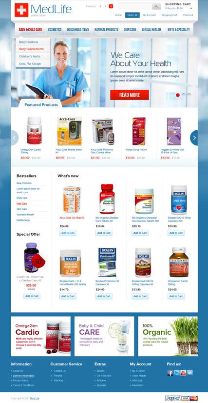 MedLife Website Design