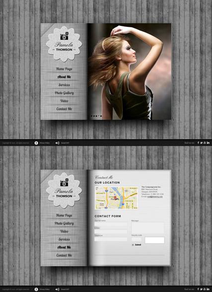Personal folio Website Design