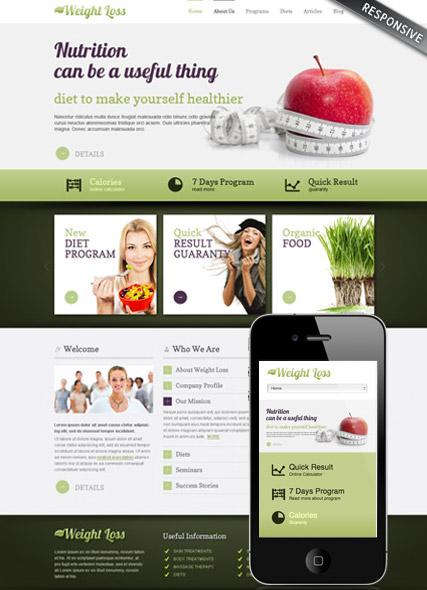 Weight loss v3.0 Website Design