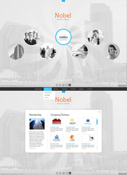 Business Circles Website Design