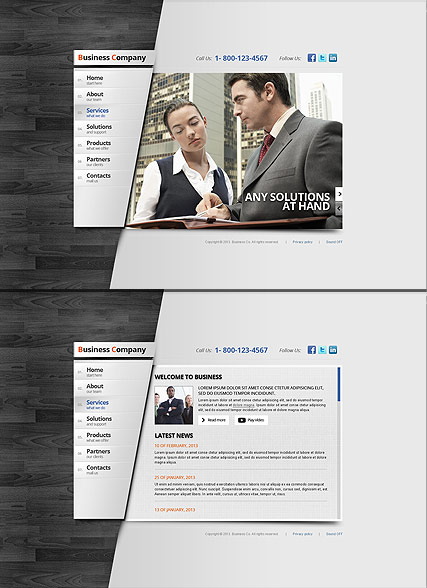 how to create a website preview template