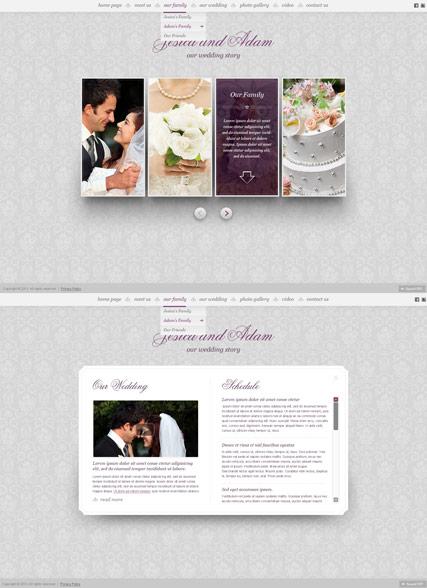My Wedding Website Design