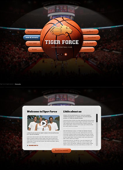 basketball game html5 template demo preview. Black Bedroom Furniture Sets. Home Design Ideas