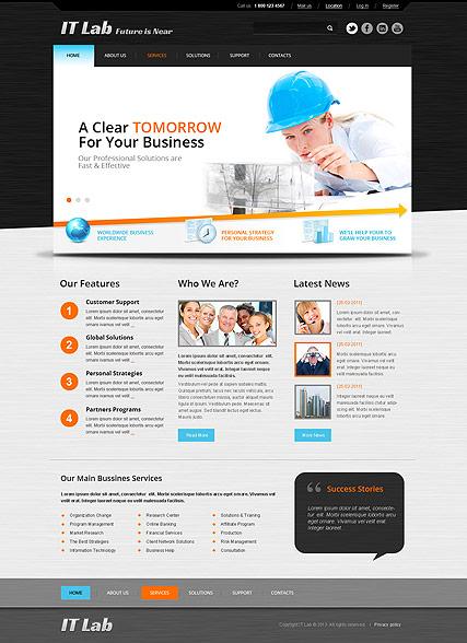 IT Laboratory Website Design