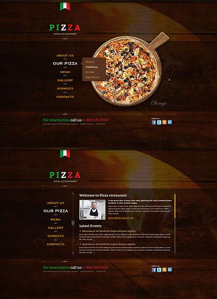 Pizza Website Design