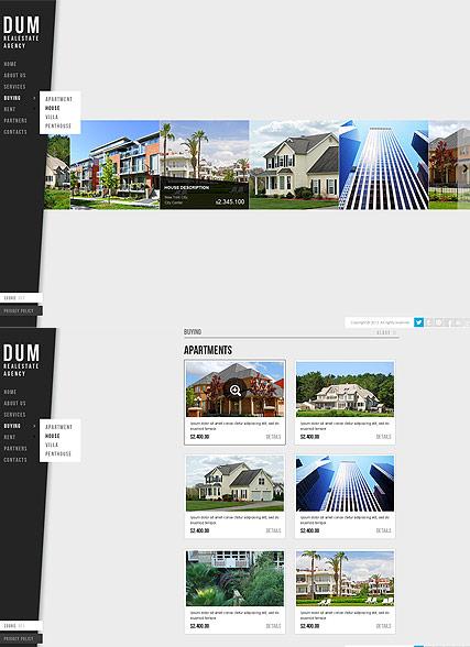 Realestate Agency Website Design