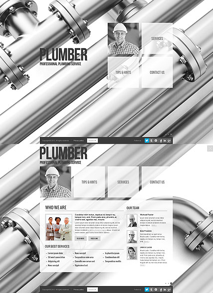 Plumber Website Design