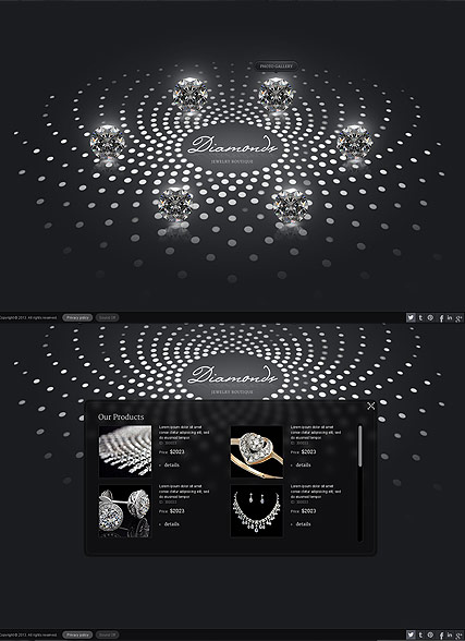 Jewelry Boutique Website Design