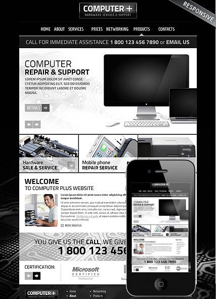 PC Repair v3.5 Website Design