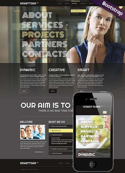 Smart Team Website Design