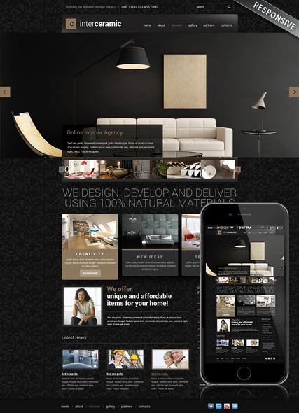 Interior and decore Website Design