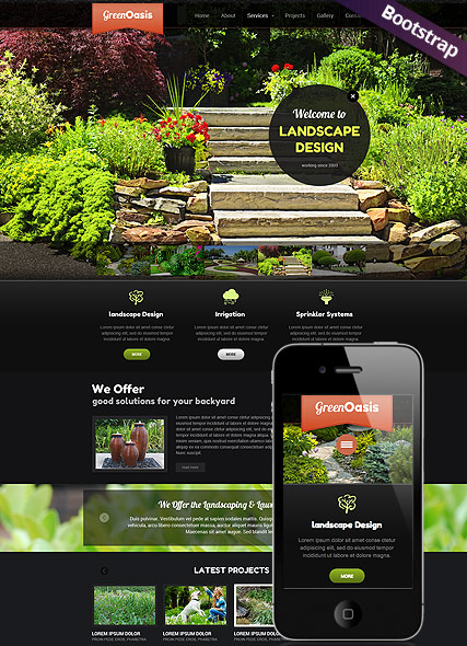 Landscape Design Website Design